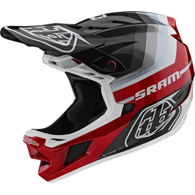 Troy Lee Designs D4 Carbon MIPS Casco, mirage sram black/red